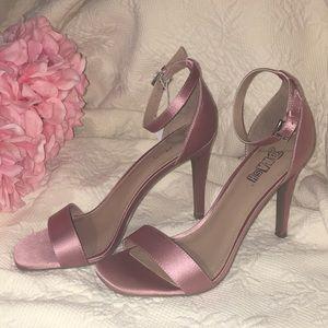Brash Mauve Trendy Mauve Pink HIGH Heels NWT